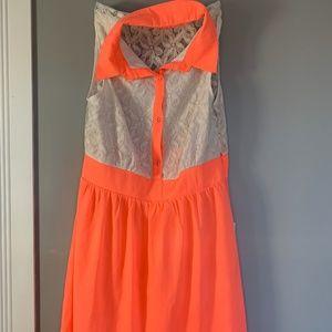 TCEC collared midi dress